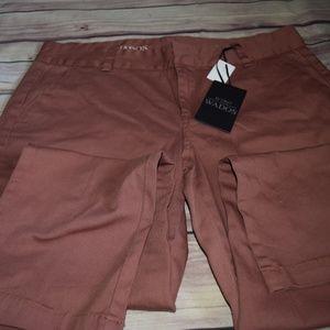 NWT Wado's Rose Colored Jean Pants